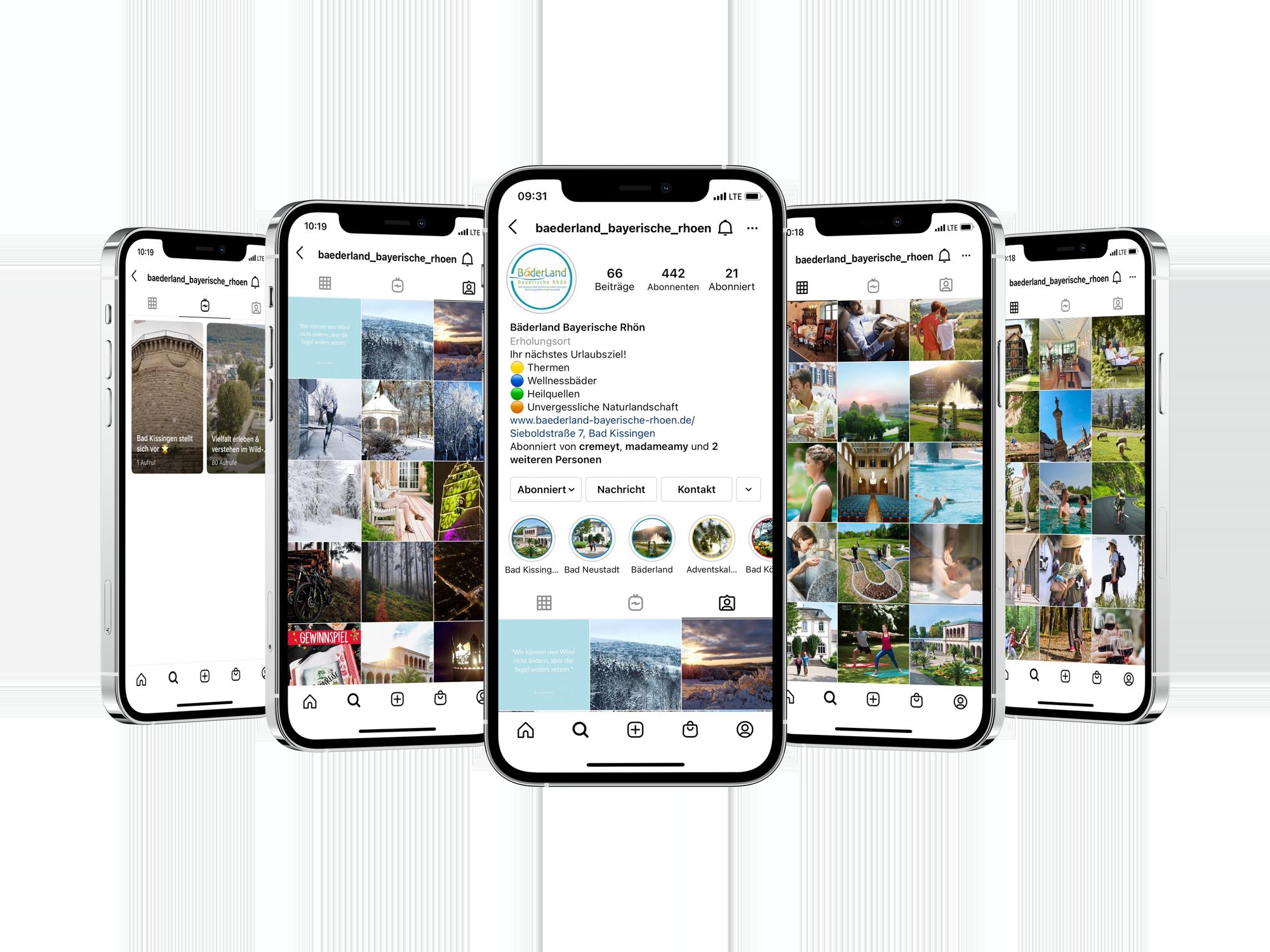 I Phone Mockup Baederland | MedienMacher