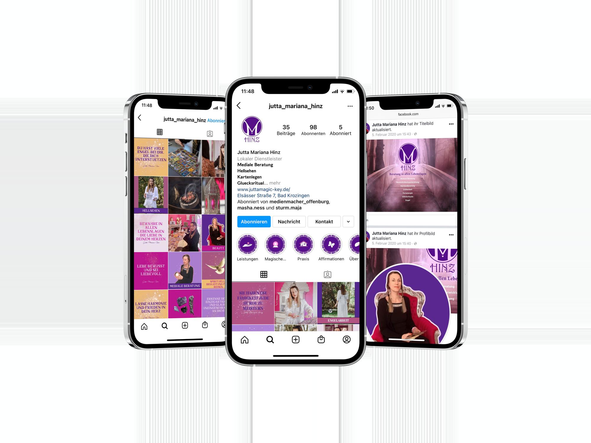 I Phone Mockup Hinz | MedienMacher